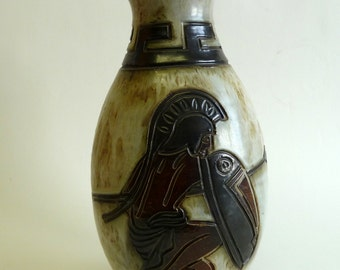 art deco  decanter signed GUERIN