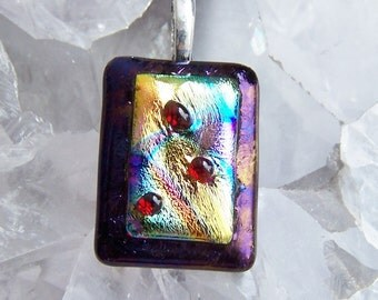 One Of A Kind - Fused Glass Pendant
