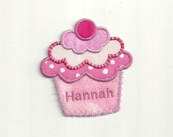 Your Name on a Cupcake, Any Color Patch! Custom Made! AP96
