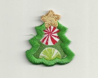 tiny christmas tree patch custom made - Tiny Christmas Tree