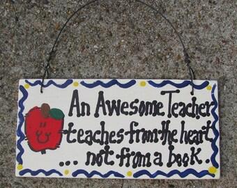 Teacher Gifts 123 AT An Awesome Teacher