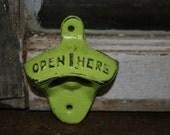 Bottle Opener / beer bottle opener / Bottle cap opener / Vintage Inspired / coke bottle opener / kitchen decor