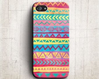 Aztec tribal Geometric iPhone 5 Case, iPhone 4 case , iphone 4s case ,  Aztec tribal iphone case , iphone cover