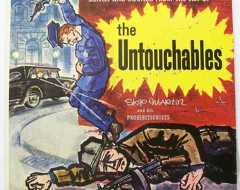 Songs And Sounds From The Era Of The Untouchables With Skip Martin And His Prohibitionists vinyl record vintage record album lp