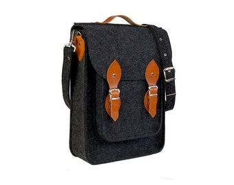 Felt Vertical Laptop bag 13 in, , felt satchel, macbook pro, macbook air 13 inch sleeve, case, bag