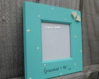 Grandad and me photo frame grandad photo frame fathers day gift