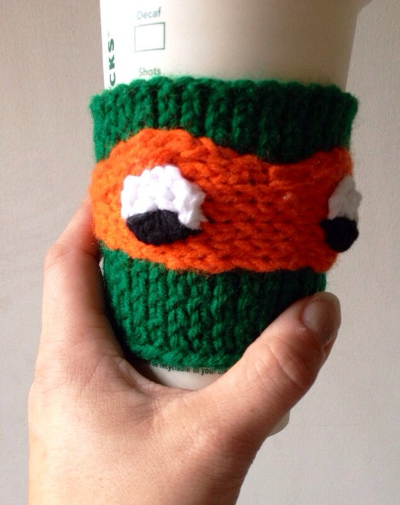 "TMNT Coffee Cozy Michelangelo ""Mikey"""