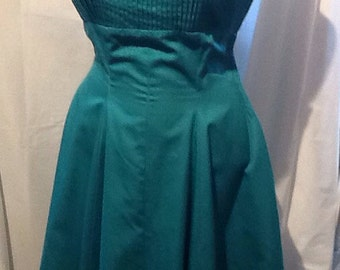 50's Turquoise Sun Dress