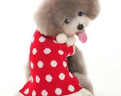 Dog Christmas necessary sweater Pet clothing Pet Wool dress In the spring autumn and winter
