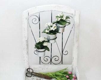 vertical garden outdoor garden planter wrought iron. Black Bedroom Furniture Sets. Home Design Ideas