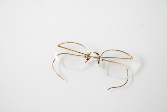 Gold Frame Vintage Glasses : antique eyeglasses gold frame glasses antique spectacles