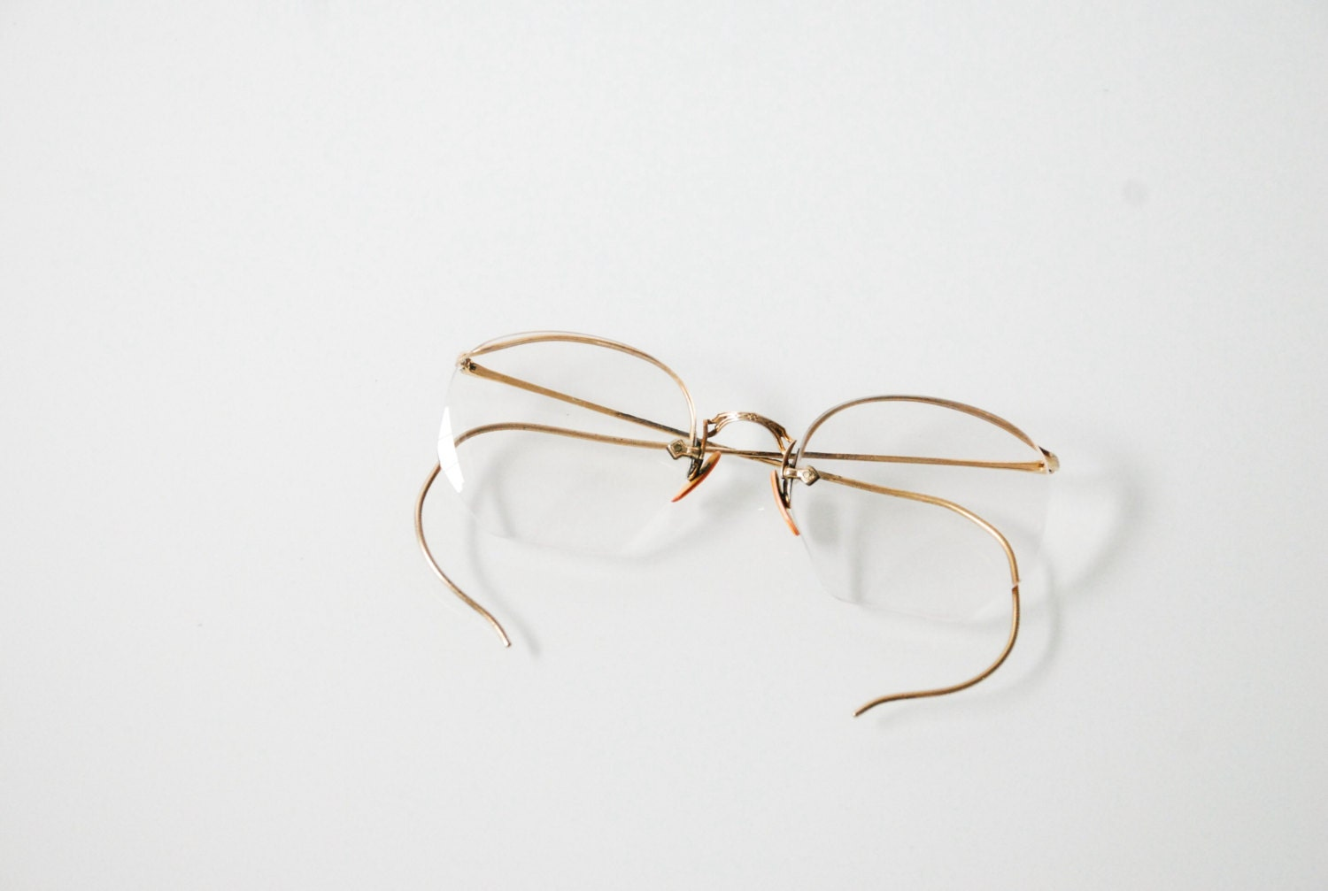 antique eyeglasses gold frame glasses antique spectacles
