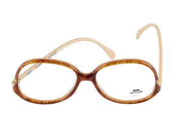 Metzler Eyeglasses 0607 866 Brown 58-16-140 Made in Germany