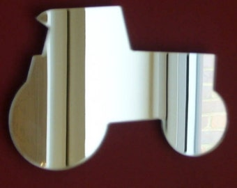 Tractor Shaped Mirrors - 5 Sizes Available