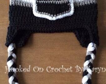 LA Kings Crocheted Hat
