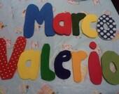 Door Sign - Marco Valerio