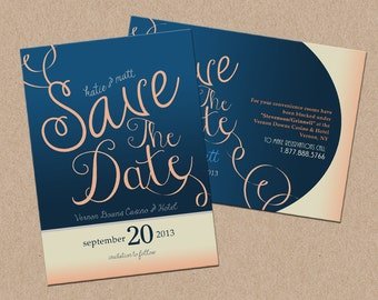 Save the Date - Double Sided