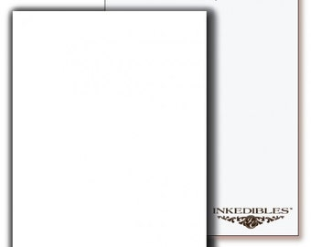 Inkedibles Premium Wafer Sheets (100 pack, A4)
