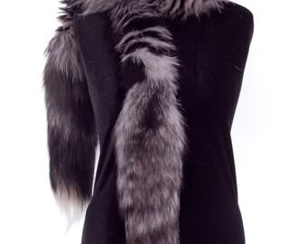 Fox boa scarf