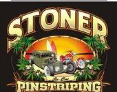 Stoner Pinstriping MENS T Shirts