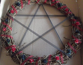 large 30cm Pagan wreath
