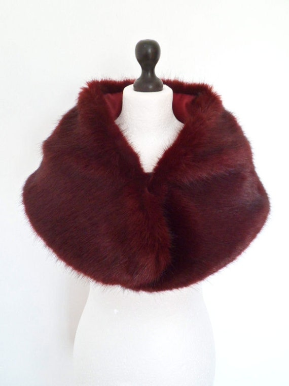 how to clean fur stole