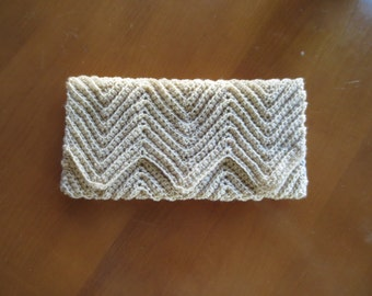 Crocheted Clutch, Purse Ready to Ship