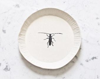 Porcelain silkscreen plate