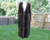Vintage Fur Vest,Vintage Fur Liner