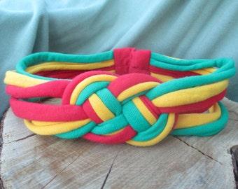 Rasta Celtic Knot Headband