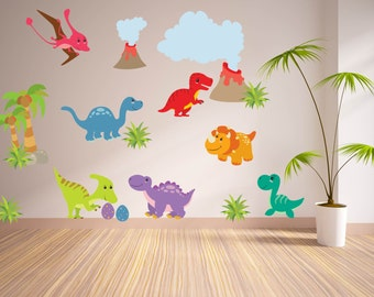 Wall Decals For KidsBedroom   Dinosaur Wall Decal   Tree Decal  Dino Wall  Decal   Part 49