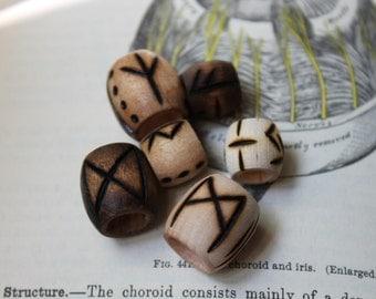 Rune Dread Beads