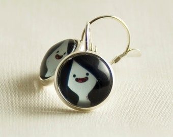 Adventure Time Earrings / Marceline / Exclusive for Adventure Time Lovers