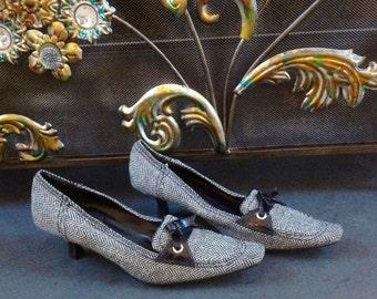 90's High Lights Black And Grayish Shoes