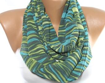 Green Scarf Aqua Scarf Zebra Print Scarf Lightweight Chiffon Scarf Spring Summer Scarf Gift Ideas For Her For Mom Bridesmaids