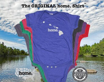 Hawai'i home Baby Bodysuit