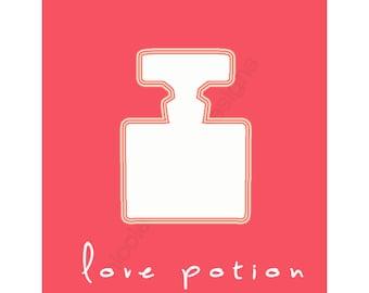 Love Potion print