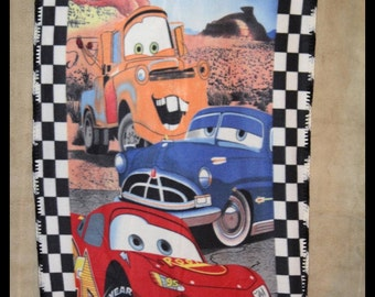 Disney Cars Fleece Blanket