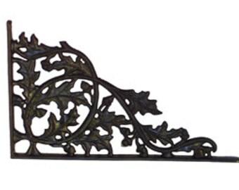Oak Polypropylene Bracket for sign bracket, craft decoration