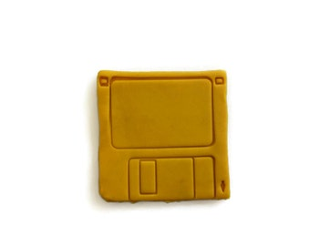 3D Printed 3 1/2 inch diskette Cookie Cutter