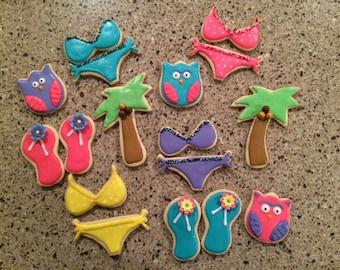 Summer Fun Cookies ~ 1 dozen cookies!
