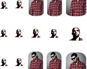 Drake Nail Art Decals