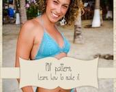 Pattern Brazilian bikini crochet set - Crochet Bikini - Crochet Bathsuit - Crochet Lace Swimwear