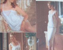 Vogue Panties Pattern, Camisole Half Slip Lingerie SEwing pattern Sizes XS-M 7626