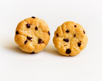 Cookie unique earrings miniature food