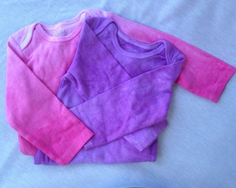 Hand Dyed Ombre Onesie 6-12 months