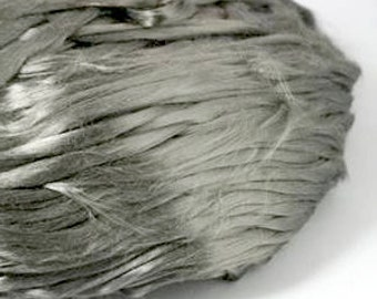 Stainless Steel Fiber 6um - Etextiles - Create Conductive Yarn - 1oz