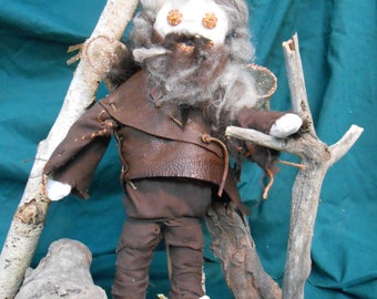 Doll Woodland Raggedy Faerie The Little Whistling Man