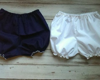 Toddler Diaper Covers, Girls Panty Covers, Short Bloomers, Baby Diaper Covers, School Uniform
