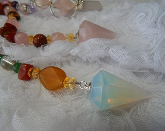 2. PENDULUM.Can be used as a Healing pendulum and Divination pendulum.